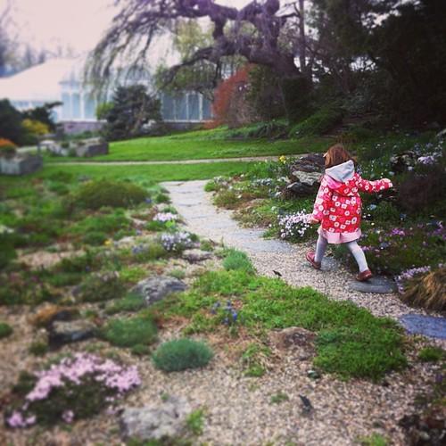 weekend wanderings #latergram #100daysofhappy @mollyhatch wearing c's shoes & dress!