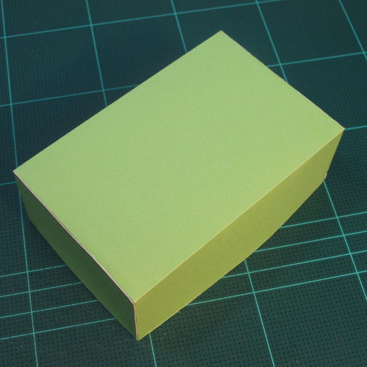 วิธีทำโมเดลกระดาษตุ้กตาคุกกี้รัน คุกกี้ผู้กล้าหาญ แบบที่ 2 (LINE Cookie Run Brave Cookie Papercraft Model Version 2) 024