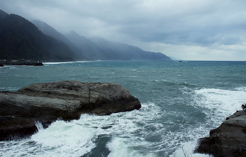ocean sea seascape mountains nature water taiwan 台灣 花蓮 hualian