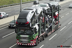 Scania P440 6x2 Car Transporter - PE13 CFM - A9315 - Anna Louise - Eddie Stobart Automotive - M1 J10 Luton - Steven Gray - IMG_9621