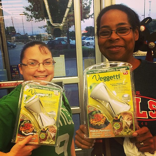 We got the #veggetti! I'm excited to try it! #healthy #healthyeats #beggies