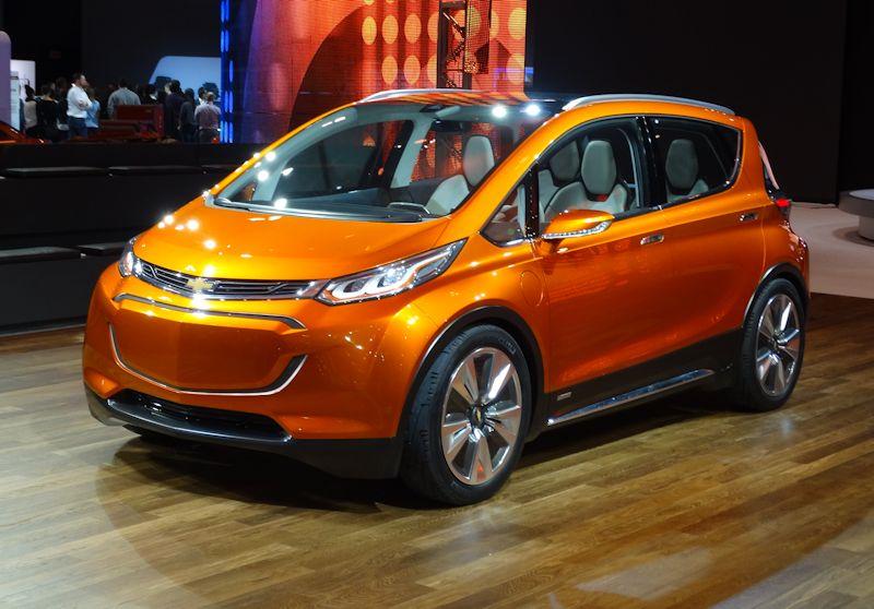 Chevrolet Bolt EV Concept Car
