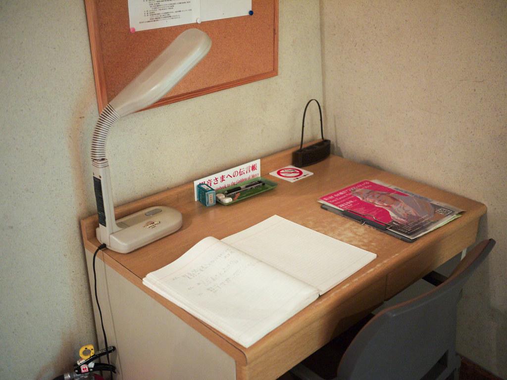 片隅には勉強机