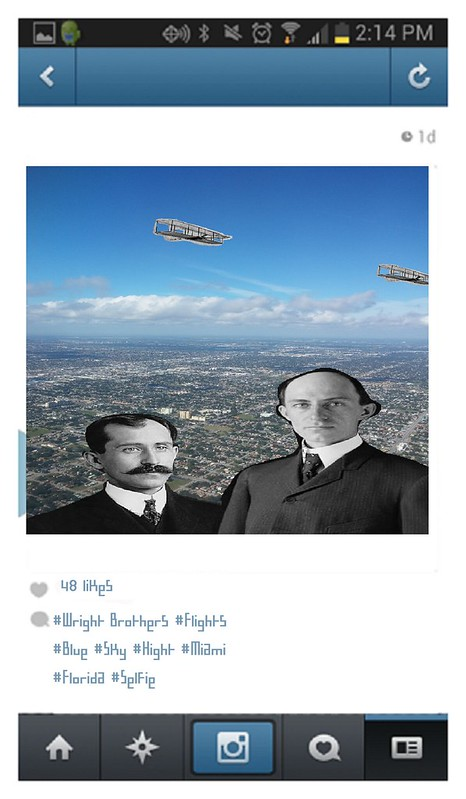Wright Brothers Selfie