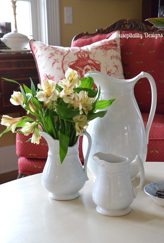 Ironstone Pitcher and creamers-Housepitality Designs