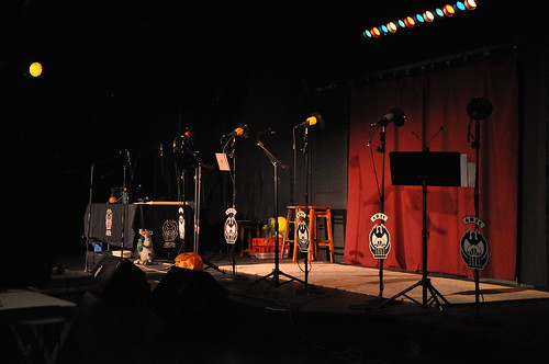 Typical stage setup for ARTC