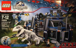 LEGO® 75915 ~ 75919 JURASSIC WORLD 系列【侏儸紀世界】進擊的恐龍們來囉!!