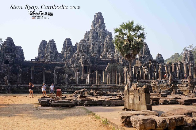 Siem Reap, Cambodia Day 2 - Bayon Temple 01