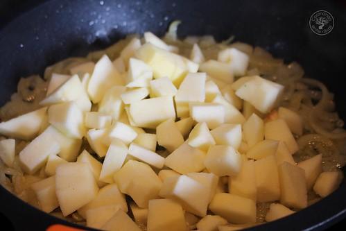 Albondigas con salsa de manzana www.cocinandoentreolivos.com (24)
