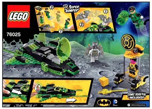 LEGO DC Super Heroes 76025 Green Lantern vs. Sinestro box03