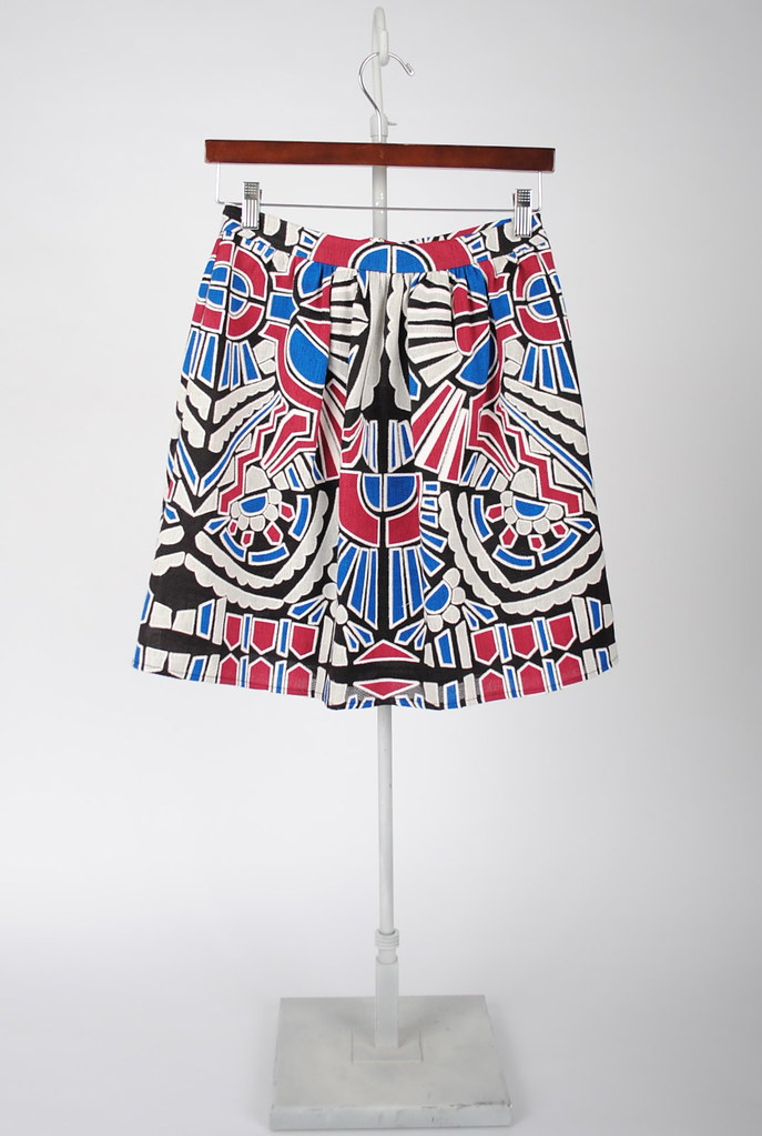 Two Pleat Skirt