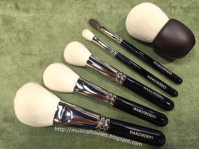 Beauty Asia 2015 Hakuhodo Brushes