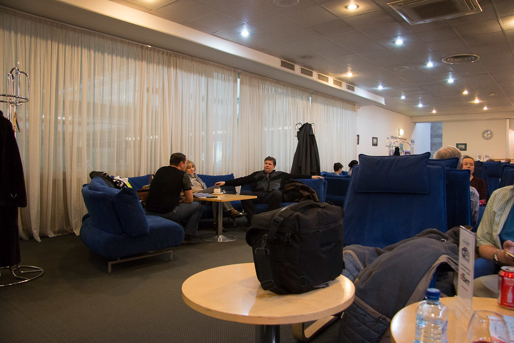 Business and First class Lounge at St. Petersburg, Russia Pulkovo Airport