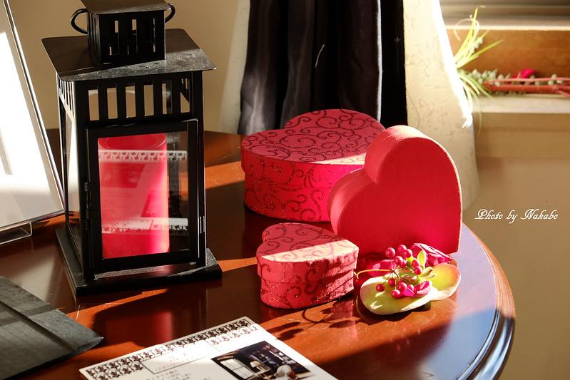 テーブルコーディネート「恋文」 & 花展示「あなたに愛を」 by Nakabo