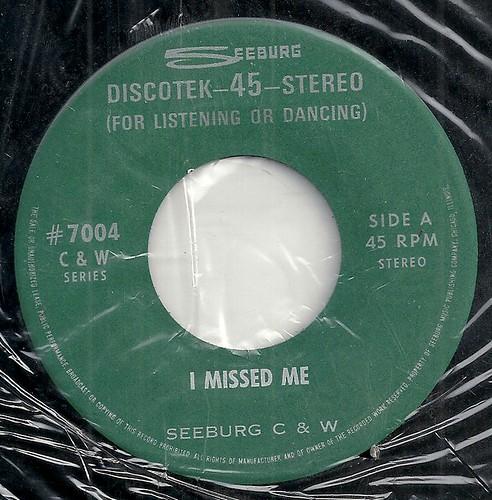 SEEBURG - I MISSED ME #7004