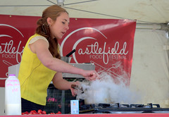 Ginger's Ice Cream Food Demo at Castlefield F…