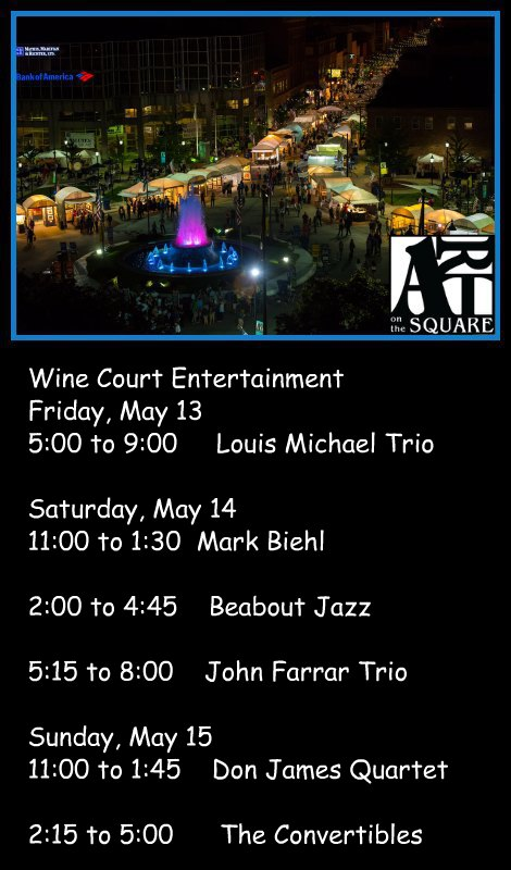 Art On The Square 5-13-16