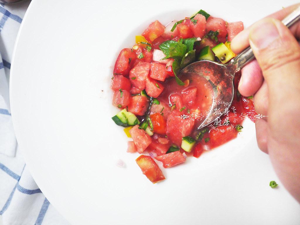 孤身廚房-西班牙西瓜冷湯27