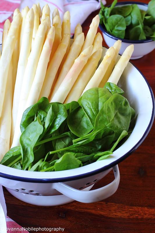 Asparago di Badoere e spinacini