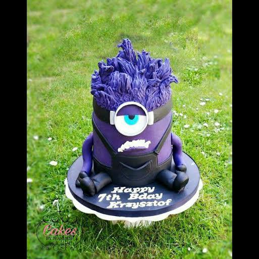 Crazy Minion Cake by Zaneta Kowalska
