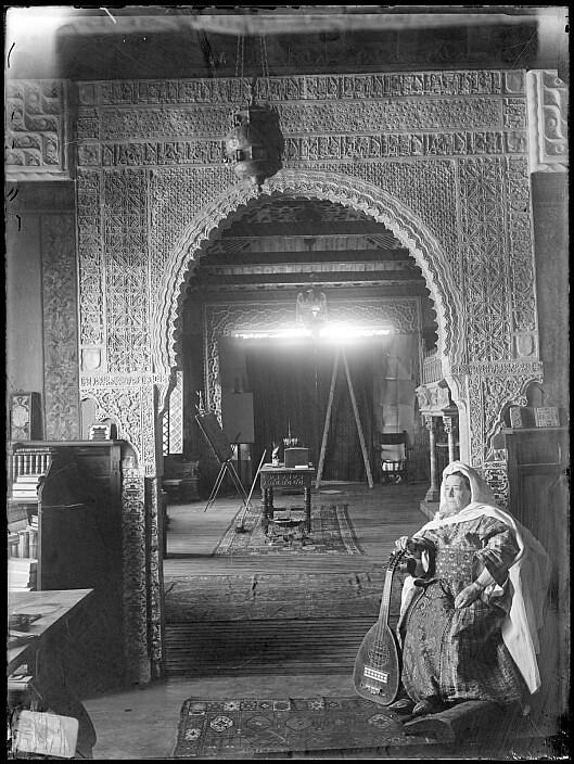 Palacio de los Pantoja o de Benacazón, sede en su día del Museo Anastasio Páramo. Foto de Casiano Alguacil, Archivo Municipal de Toledo.