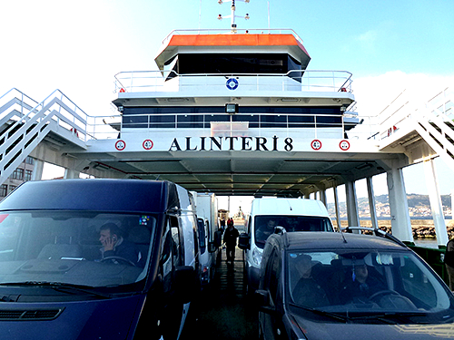 Car  Turkish Ferries are available at Lapseki to cross the Dardanelles Strait to Gallipoli, a place of great remembrance to Australian and New Zealanders, as it is also to the Turkish people.