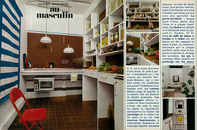 la maison de marie claire n 34 d cembre 1969 flickr photo sharing. Black Bedroom Furniture Sets. Home Design Ideas