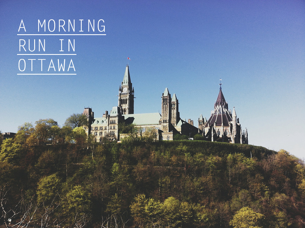 A Morning Run in Ottawa