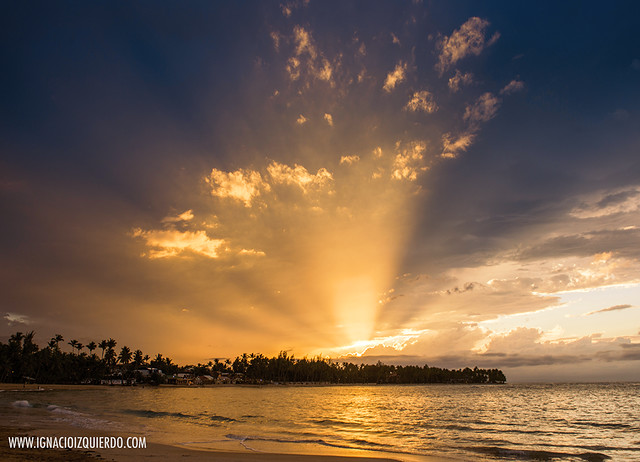 Sunset in Las Terrenas - El Portillo 03