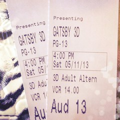 OMG. Can I go again?? #gatsby #movies #lovedit #fivestars #datenight