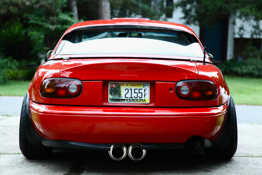 1990 Miata St. Mays Center Exit Exhaust