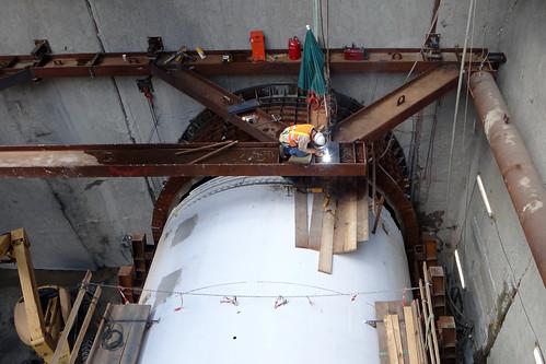 U-Bahn-Tunnelbohrer