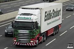 Scania R440 6x2 Tractor - PF12 OYO - Lilli Rae - Eddie Stobart - M1 J10 Luton - Steven Gray - IMG_8952