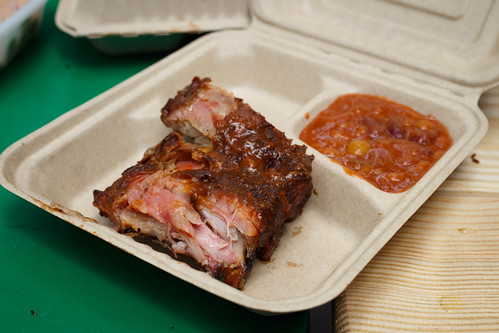 Baby Back Ribs from 17th Street Bar and Grill