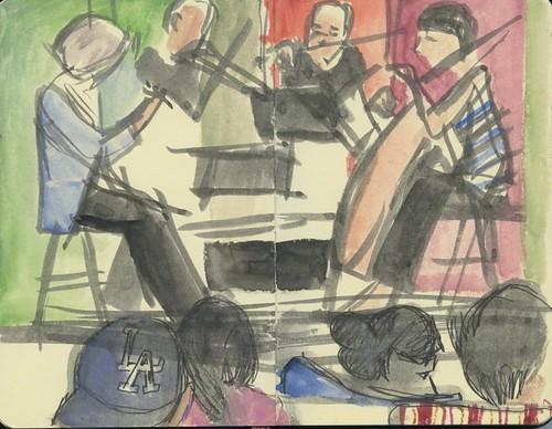 Kronos Quartet New Haven Arts and Ideas by Bricoleur's Daughter