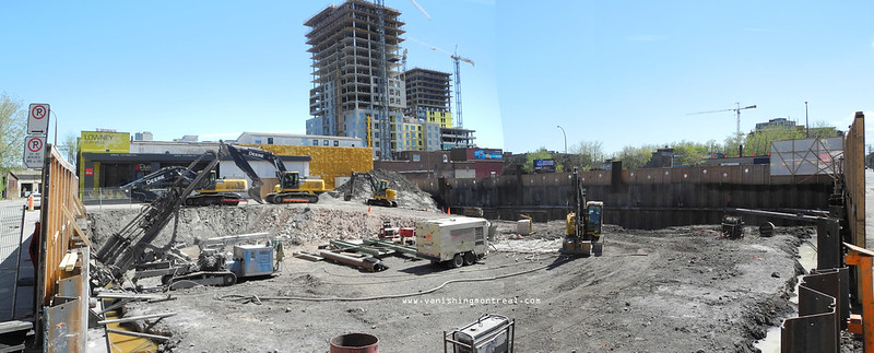Griffintown district panorama