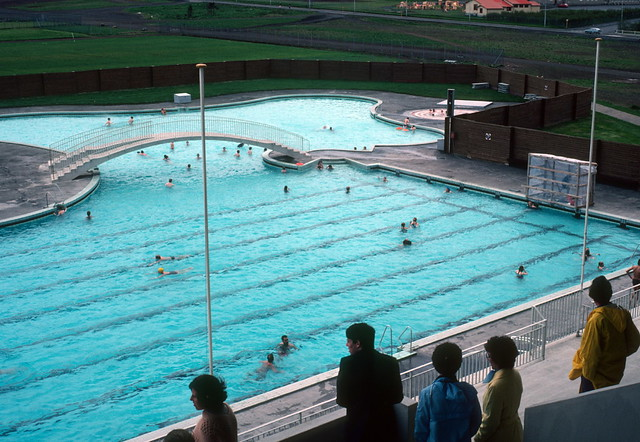 Open Air Swimming Pool Open Air Swimming Pool Reykjavik 1979 Flickr Photo