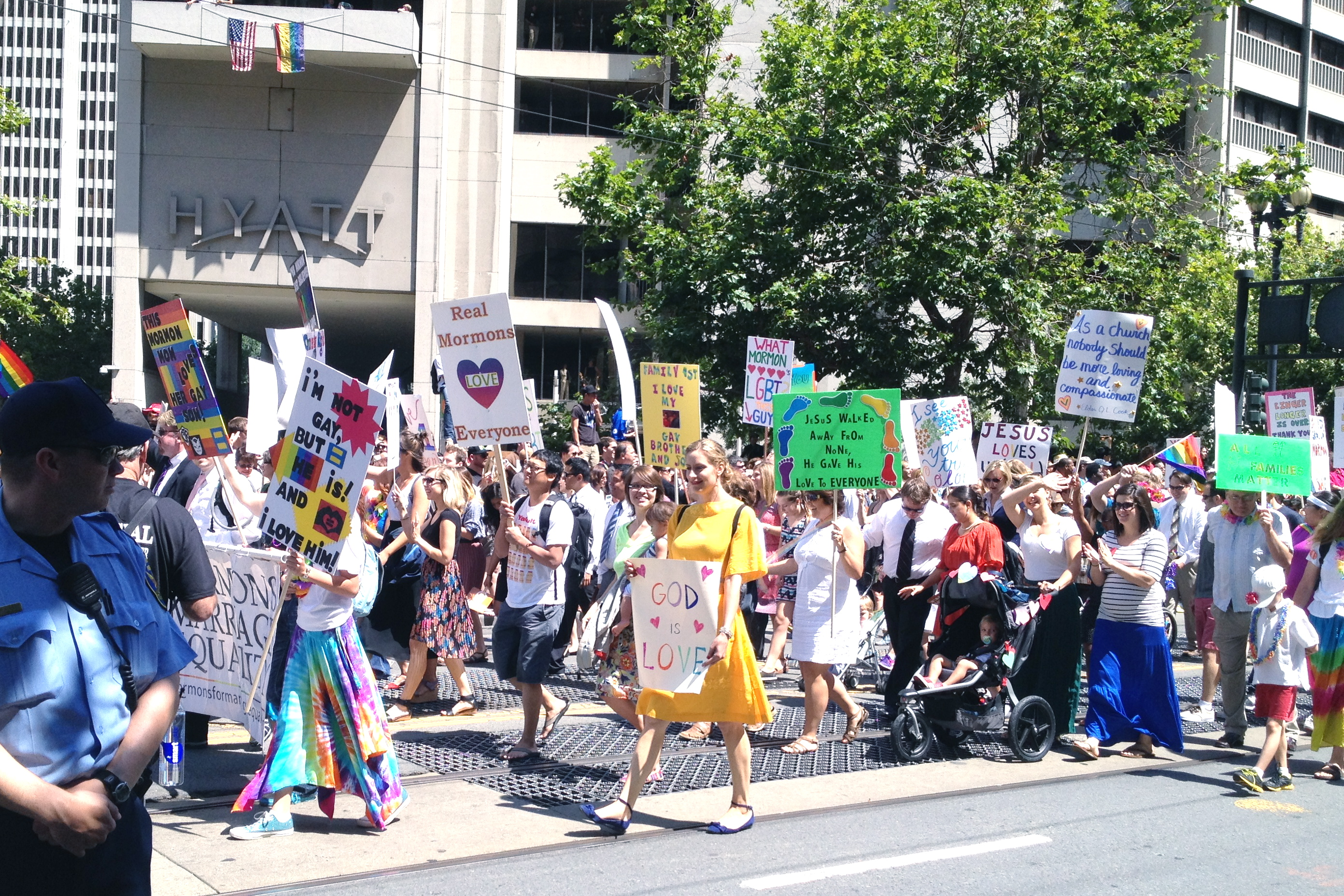 Pride Parade San Francisco Etxe