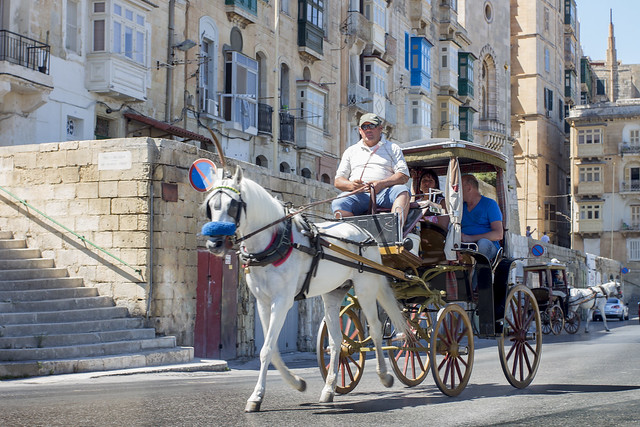 Carriage in Valletta - Malta