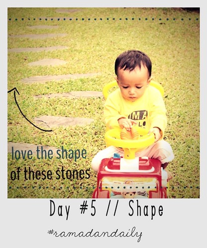 Day #5 // Shape#ramadandaily