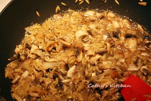 蘑菇義大利米麵 Mushroom Orzo 15