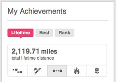 lifetime miles