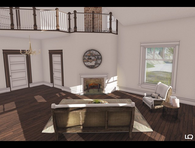 C88  JULY - [ba] lakeside cottage by Barnesworth Anubis - 4 with CheekyPea -  Deconstrcuted Living Room - 2