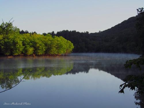 trees mist lake mountains water canon reflections river pond powershot reservoir wanaquereservoir sx150is smack53