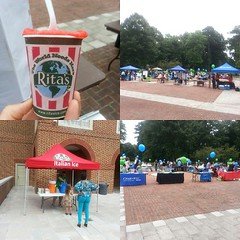Come out and get some free Ritas! The New Student Connection Fair is happening NOW 11-2 @ THE Library Plaza. Don't forget to stop by and check out the organizations! #rureporting #regentuniversity