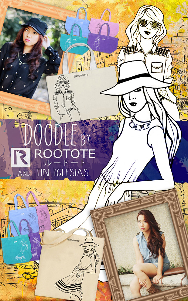 Rootote doodle poster