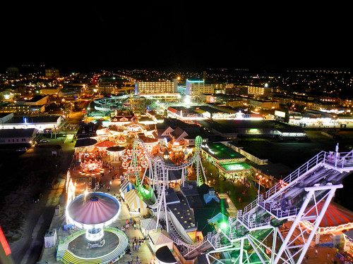 Wildwood From Atop the Ferris Wheel