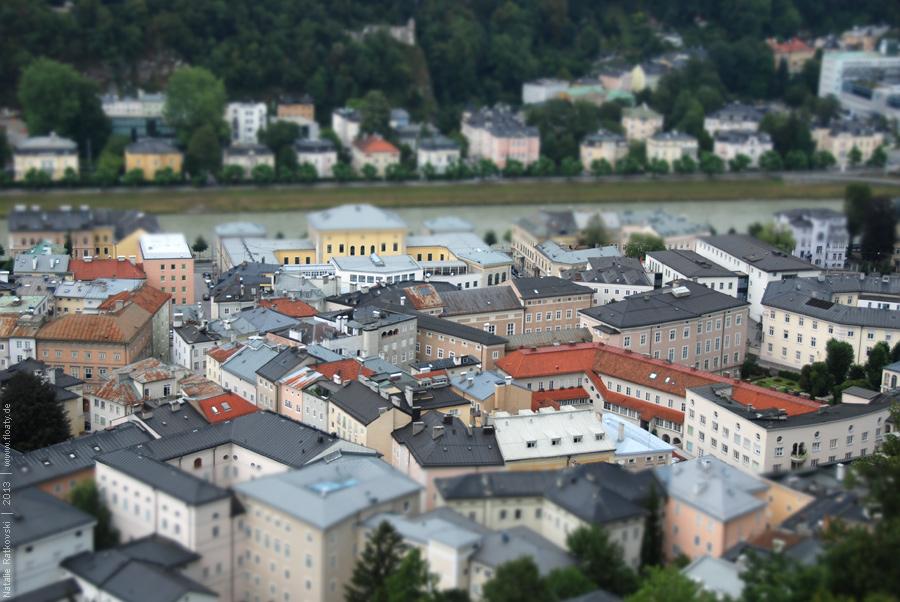 Dächer von Salzburg
