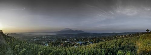 panorama sunrise indonesia landscape panoramic centraljava ambarawa jawatengah d3200 bandungan rawapening tuntang