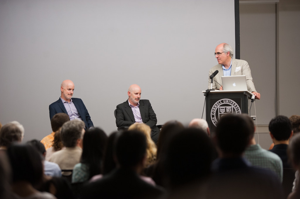 The lectures were followed by a discussion moderated by Mark Cruvellier.
